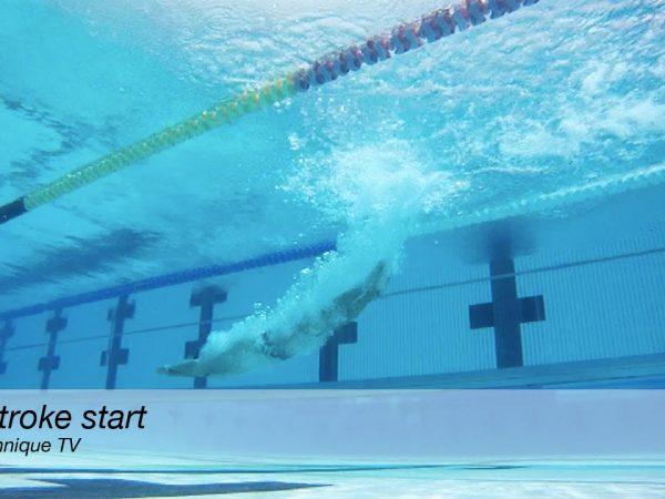 背泳ぎのスタートを綺麗にやる為に気をつけたいポイント