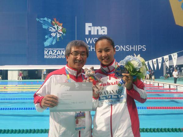 世界水泳競泳2日目 8/3 準決勝・決勝結果