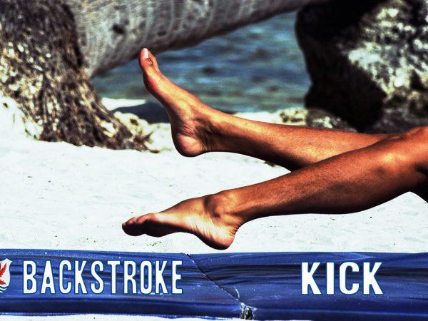 背泳ぎのキックを速くする為に意識したいポイント
