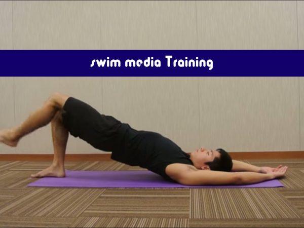 平泳ぎのキックを速くするには体幹とお尻の筋肉を連動させよう